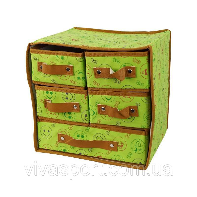 Органайзер для белья с 5 выдвижными ящиками