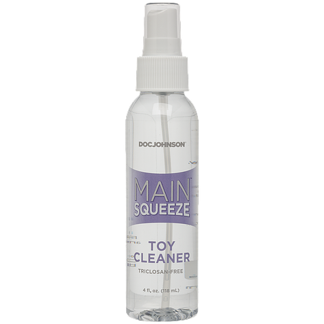 Очищающее средство для игрушек Doc Johnson Main Squeeze - Toy Cleaner (118 мл), фото 2