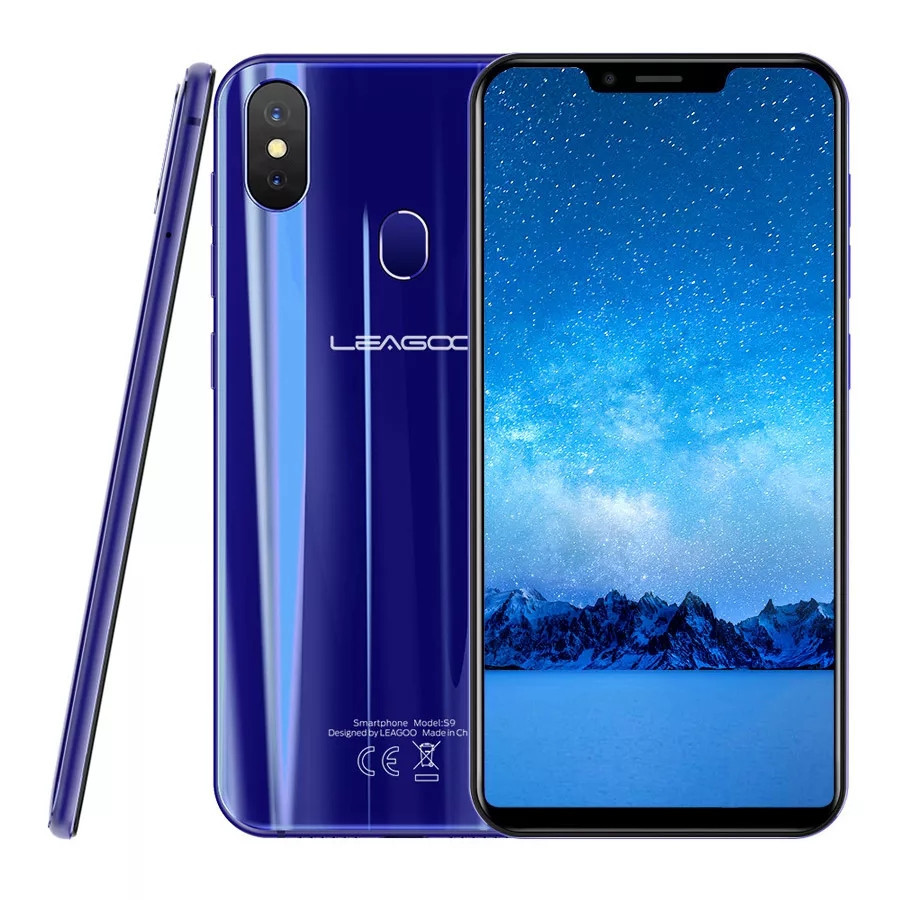 Смартфон Leagoo S9 Blue 4\32Gb 8ядер And 8.1 + чехол