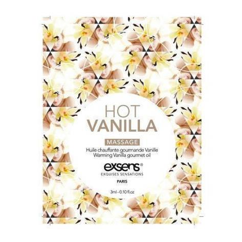 Пробник массажного масла EXSENS Hot Vanilla 3мл, фото 2