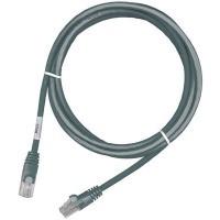 Патчкорд MOLEX PC RJ45, 568B, FTP, PowerCat 6, LSZH, 2m, Серый