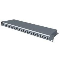 Патчпанели MOLEX PID-00030 24хRJ45, PowerCat 5e, 1U, графит
