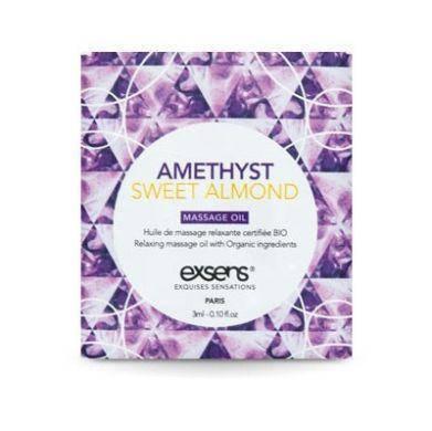 Пробник массажного масла EXSENS Amethyst Sweet Almond 3мл, фото 2