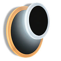 Светодиодный накладной светильник, бра LUMINARIA GEOMETRIA ROUND 10W R-185 -WHITE