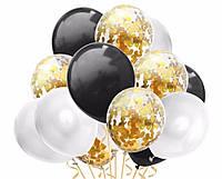 Набор воздушных шаров 015 (30 см - 15 шт)