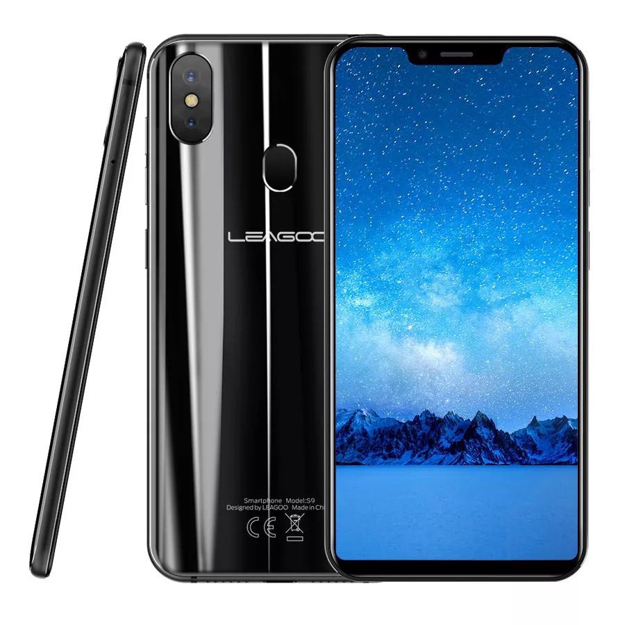 Смартфон Leagoo S9 Black 4\32Gb 8ядер And 8.1 + чохол
