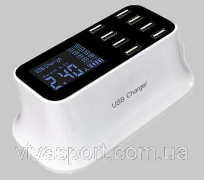 Зарядное устройство на 8 USB-портов