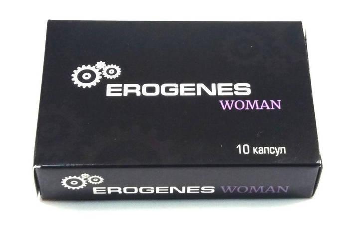 Женский возбудитель Erogenes Woman БАД (1 капсула), фото 2