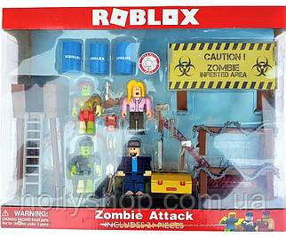 "Набір фігурок Роблокс JAZWARES ROBLOX ""Атака Зомбі """