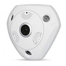Панорамная IP Камера Видеонаблюдения Потолочная CAD 1317 VR CAM 3D Wi-Fi DVR, фото 3