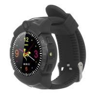 Смарт часы ERGO GPS Tracker Color C010 - Детский трекер (Black)