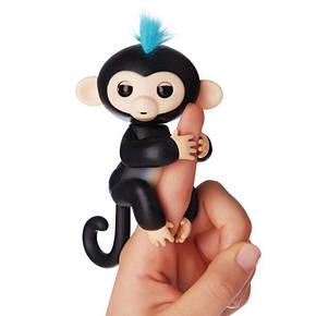 Интерактивная обезьянка Fingerlings (Черная), фото 2