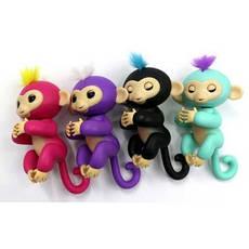 Интерактивная обезьянка Fingerlings (Голубая), фото 3