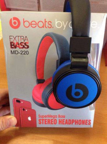 Наушники Monster Beats By Dr.Dre MS 220 (Синие)