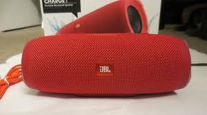 Портативная блютуз Колонка JBL Charge 3 (Red)