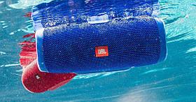 Портативная блютуз Колонка JBL Charge 3 (Blue), фото 3