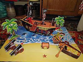 Набор StikBot пиратский корабль 3-D для снимания мультиков / анимации