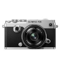 Цифровая камера OLYMPUS PEN-F 17mm 1:1.8 Kit cеребряный/черный