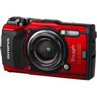 Цифровая камера OLYMPUS TG-5 Red (Waterproof - 15m; GPS; 4K; Wi-Fi) + чехол