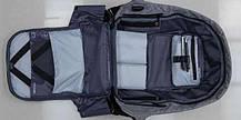 Рюкзак Bobby Антивор фиолетовый с USB портом, фото 3