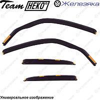 Ветровики Honda Civic 3d 2006-2012 (HEKO), фото 1
