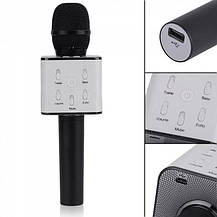 Караоке-микрофон q7 | Беспроводной Bluetooth караоке-микрофон (Золотой), фото 3