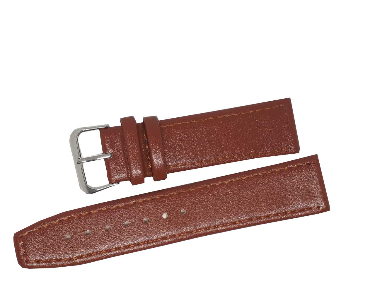 Ремешок для часов Perfect 22 мм коричневый