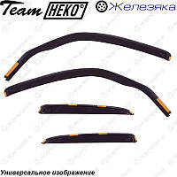 Ветровики Honda Civic Hb 2012 (HEKO), фото 1