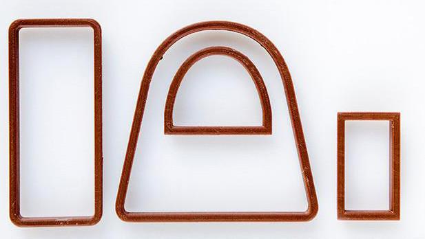 Набор Формочек-вырубок для пряников 3Д сумка