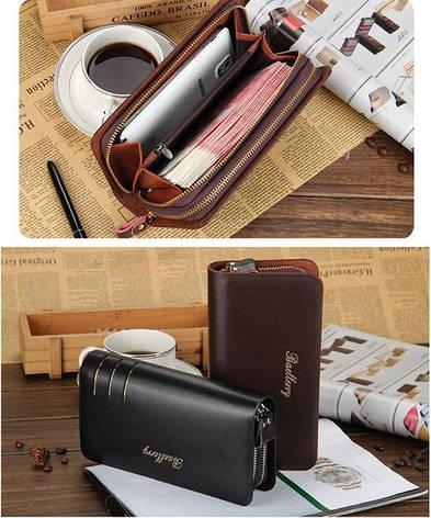 Мужской кошелек портмоне-клатч Baellerry Casual S6111, фото 2