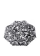 Зонт-полуавтомат Gianfranco Ferre черно-белый (GR-1)