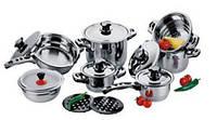 Набор посуды 16 предметов, набор кастрюль , фото 1