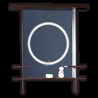 Зеркало для ванной LED Япония Венге