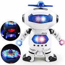 Танцующий светящийся робот Dancing Robot   детская игрушка музыкальный робот, фото 2