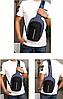 Сумка антивор в стиле Bobby mini. Рюкзак-антивор с USB портом Bobby Backpack , фото 5