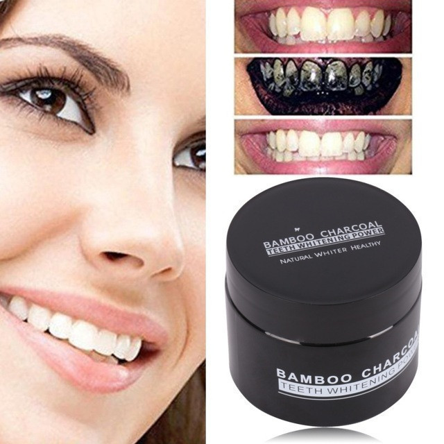 Отбеливатель зубов Miracle Teeth Whitener | черная зубная паста