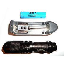 Карманный фонарик Bailong BL 1812-T6, фото 3