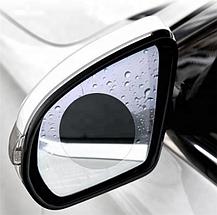 Пленка Anti-fog film 95*95 мм, анти-дождь для зеркал авто | бесцветная защитная плёнка от воды бликов и грязи, фото 3