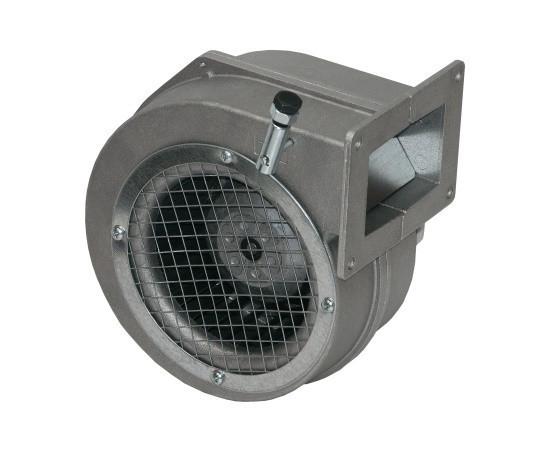 Вентилятор для котла KG Elektronik DPS 120 Корпус сталь Фланец 10х11,5 серый