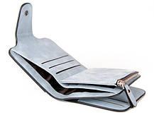 Женский замшевый кошелек Baellerry Forever N 2346 | клатч | портмоне голубой джинс, фото 3