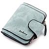 Женский замшевый кошелек Baellerry Forever N 2346 | клатч | портмоне голубой джинс, фото 2