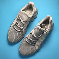 Женские кроссовки Adidas Yeezy Boost 451 Grey Reflective серые, фото 1