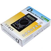 Мультиметр тестер вольтметр амперметр DT-838, фото 2