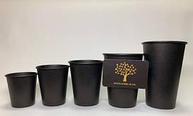 Бумажный стакан (Черный)