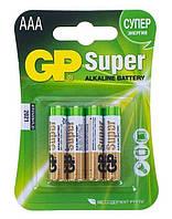 Батарейка GP Super Alkaline AAA 4шт