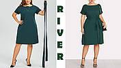 Элегантное женское платье большого размера  с 48 по 98, фото 3