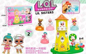 Кукольный домик башня LOL PT2018 | Два шарика ЛОЛ 5 серия | Набор игровой, фото 2