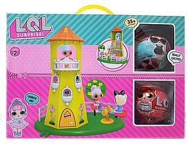 Кукольный домик башня LOL PT2018 | Два шарика ЛОЛ 5 серия | Набор игровой, фото 3