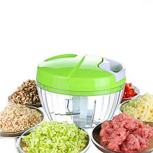 Ручной кухонный измельчитель Multifunctional High Speedy Chopper | овощерезка | блендер шинковка, фото 3