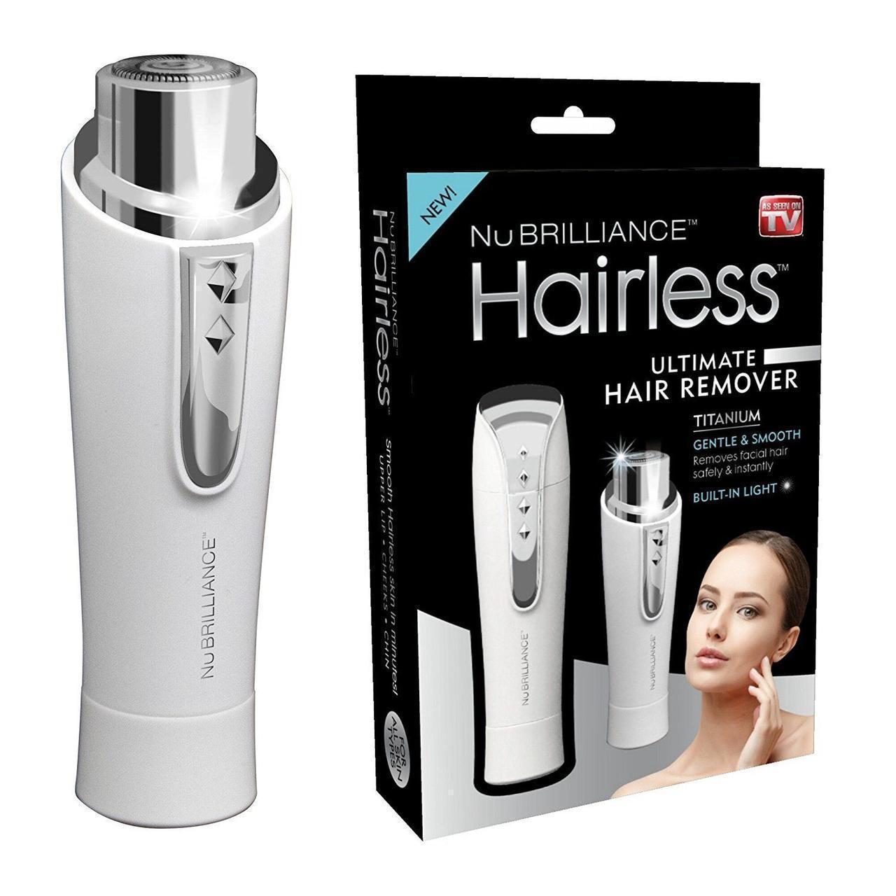 Эпилятор для лица NuBrilliance Hairless | триммер женский